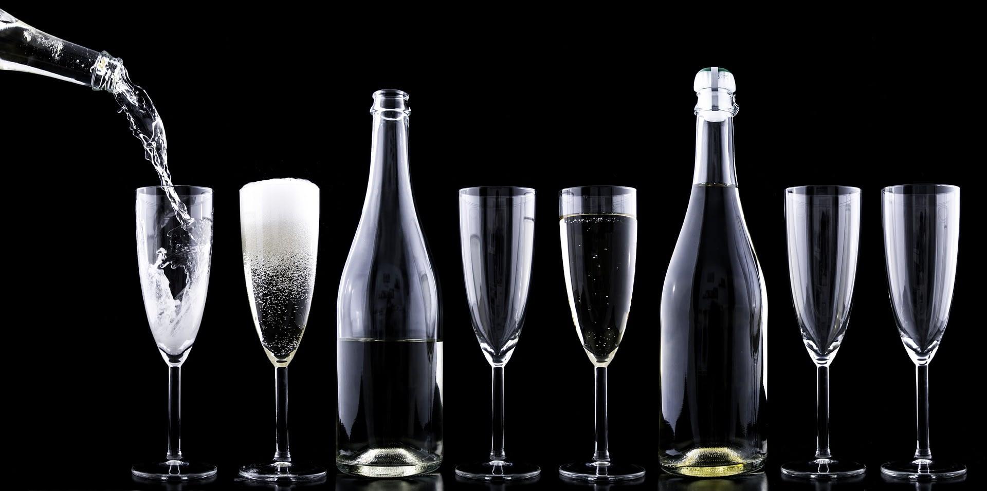 Leek mobile bar hire - Champagne bar